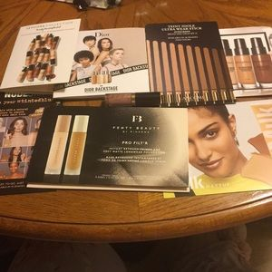 Other - Foundation Sample Pack with Lipstick